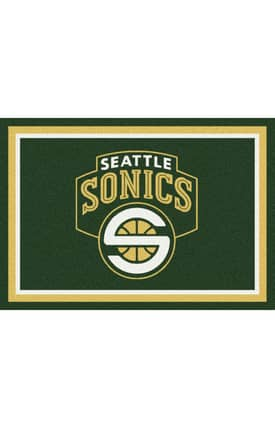 Milliken NBA Spirit Seattle Super Sonics Rug