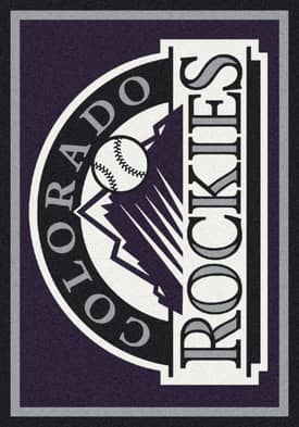 Milliken MLB Team Spirit Colorado Rockies Rug