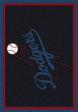 Milliken MLB Team Spirit Los Angeles Dodgers Rug