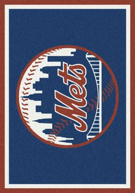 Milliken MLB Team Spirit New York Mets Rug