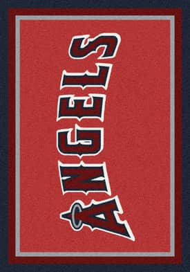 Milliken MLB Team Spirit Los Angeles Angels Rug