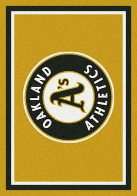 Milliken MLB Team Spirit Oakland Athletics Rug