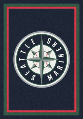 Milliken MLB Team Spirit Seattle Mariners Rug