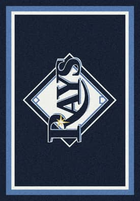 Milliken MLB Team Spirit Tampa Bay Devil Rays Rug