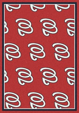Milliken MLB Team Repeat Washington Nationals Rug