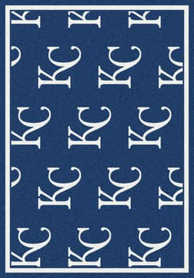 Milliken MLB Team Repeat Kansas City Royals Rug