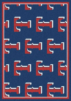 Milliken MLB Team Repeat Texas Rangers Rug