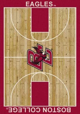 Milliken College Court Boston College Eagles Rug