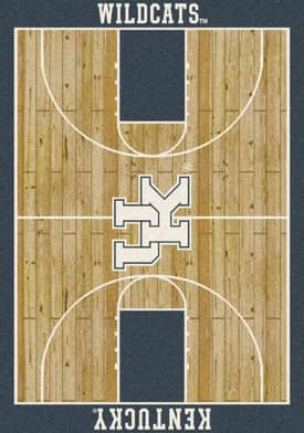 Milliken College Court Kentucky Wildcats Rug
