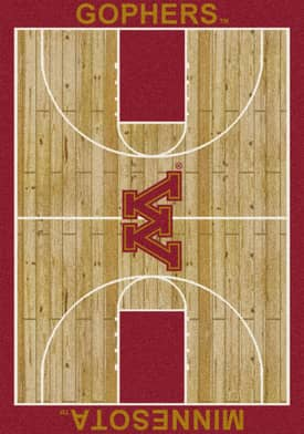 Milliken College Court Minnesota Gophers Rug