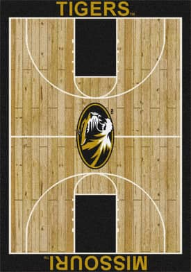 Milliken College Court Missouri Tigers Rug