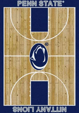 Milliken College Court Penn State Nittany Lions Rug
