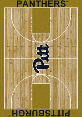 Milliken College Court Pittsburgh Panthers Rug