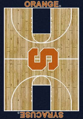 Milliken College Court Syracuse Orange Rug