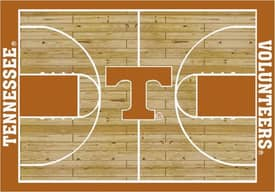 Milliken College Court Tennessee Volunteers Rug