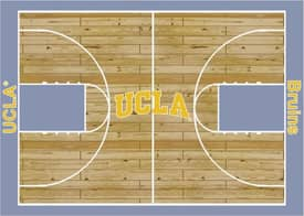 Milliken College Court UCLA Bruins Rug