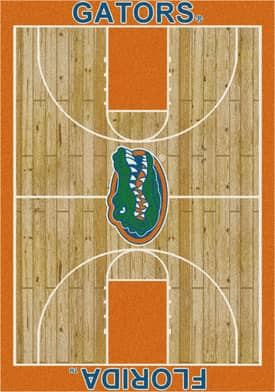Milliken College Court Florida Gators Rug