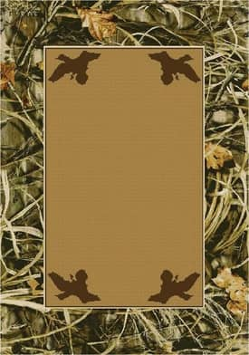 Milliken Realtree Max 4 Solid Center Rug