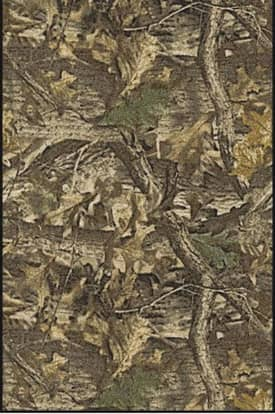 Milliken Realtree Timber Solid Camo Rug
