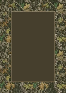 Milliken Mossy Oak™ Camo Breakup Solid Center Rug