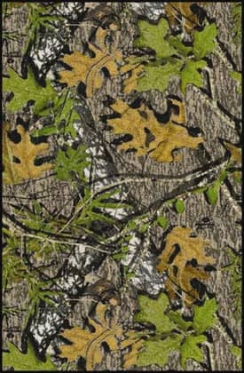Milliken Mossy Oak™ Camo Obsession Solid Camo Rug