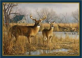 Milliken Wildlife Impression Hautman Our Side of the River Rug