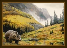 Milliken Wildlife Impression Hautman Mountain Grizzly Rug