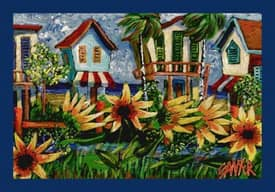 Milliken Don Sawyer Coastal The Canal Rug