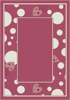 Milliken Activity Sweetheart Border Rug