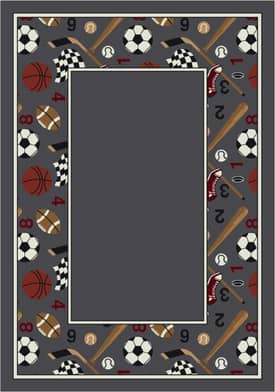 Milliken Activity Good Sport Border Rug
