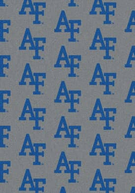 Milliken College Team Repeat Air Force Falcons Rug