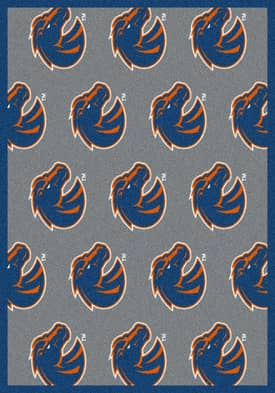 Milliken College Team Repeat Boise State Rug