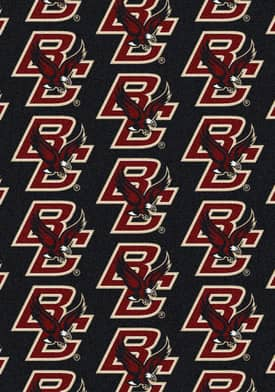 Milliken College Team Repeat Boston College Eagles Rug