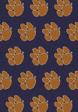 Milliken College Team Repeat Clemson Tigers Rug