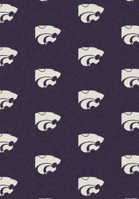 Milliken College Team Repeat Kansas State Wildcats Rug