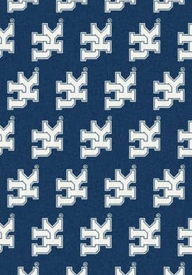Milliken College Team Repeat Kentucky Wildcats Rug