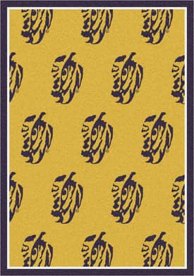 Milliken College Team Repeat LSU Fighting Tigers Rug
