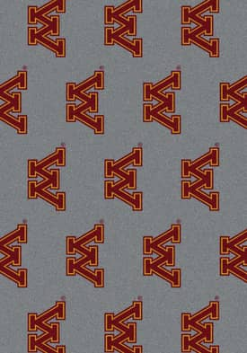 Milliken College Team Repeat Minnesota Gophers Rug