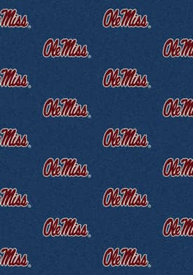 Milliken College Team Repeat Mississippi Rug