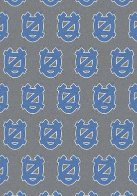 Milliken College Team Repeat North Carolina Tar Heels Rug
