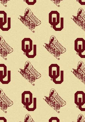 Milliken College Team Repeat Oklahoma Sooners Rug