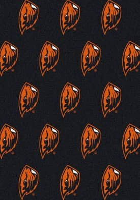 Milliken College Team Repeat Oregon State Beavers Rug