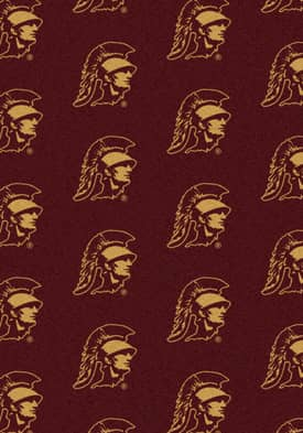 Milliken College Team Repeat Southern California Trojans Rug
