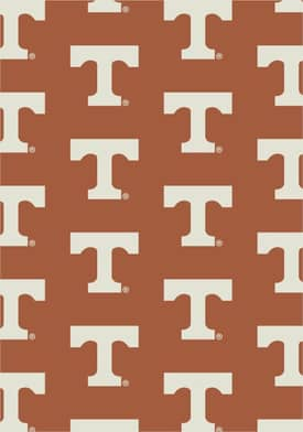 Milliken College Team Repeat Tennessee Volunteers Rug