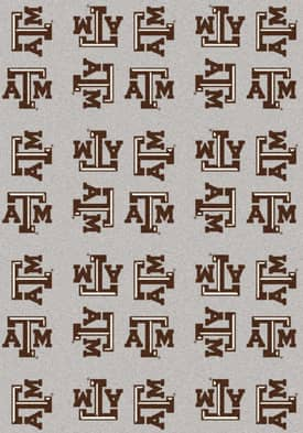 Milliken College Team Repeat Texas A&M Aggies Rug