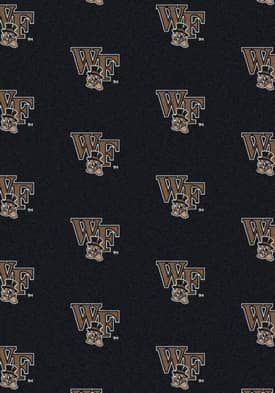 Milliken College Team Repeat Wake Forest Demon Deacons Rug