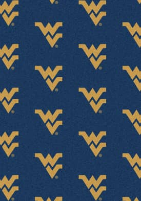 Milliken College Team Repeat West Virginia Mountaineers Rug