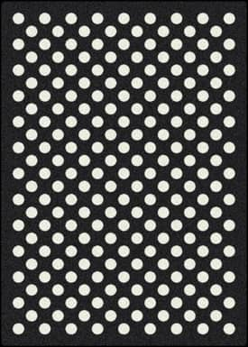 Milliken Black and White Eclipse Rug