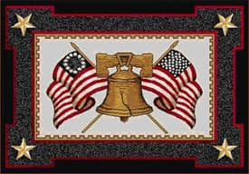Milliken Seasonal Let Freedom Ring Rug