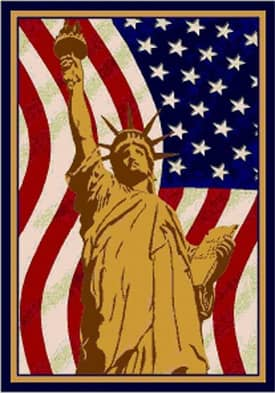 Milliken Seasonal Lady Liberty Rug